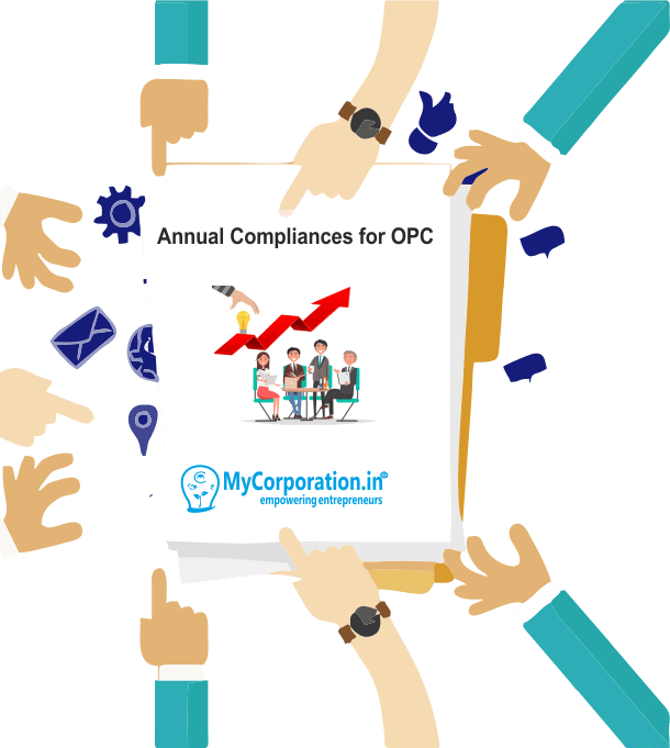 Annual compliance for OPC - One Person Company
